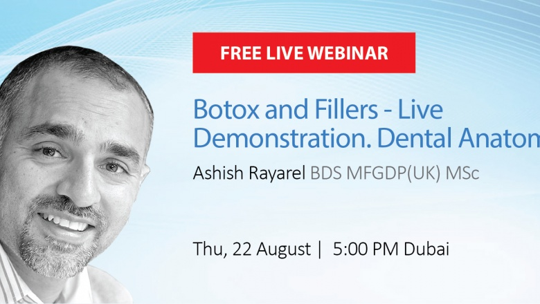 Live Webinar: Botox and Fillers- Live Demonstration. Dental Anatomy